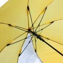 20本セット 個人専用55cm 交通安全グラスファイバーワンタッチ傘 耐風骨 かさ 学童傘 スクール傘 光る見える丈夫 ジャンプ傘 風に強い k-616 黄色 子供 3