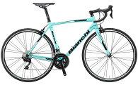 【2019年モデル】BIANCHI(ビアンキ)VIANIRONE7105(ヴィアニローネ7105)サイズ53cmチェレステカラー【プロの整備士による整備組付済】ロードバイク