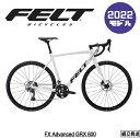 【2021/2022年継続モデル】FELT(フェルト) FX Advanced GRX600 【プロの整備士による整備組付済】 シクロクロスバイク【丸太町店(スポーツ専門)】