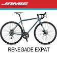 【2018年】JAMIS(ジェイミス) RENEGADE EXPAT(レネゲード エクスパット)FLAT STEEL(フラットスチール)【プロの整備士による整備組付済】【丸太町店(スポーツ専門)展示中】