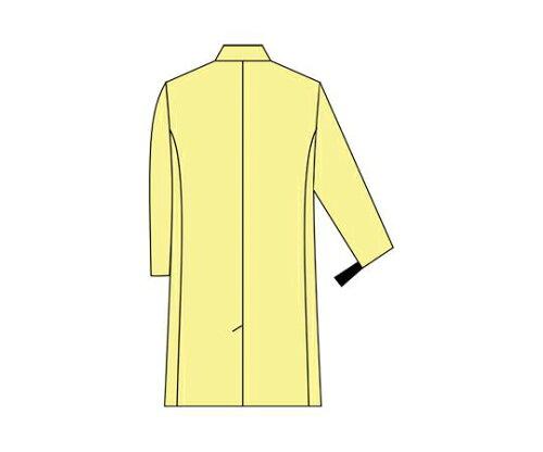 アズワン・ナビス 抗ウィルス白衣 男性用 シングル Mサイズ (8-2193-01)