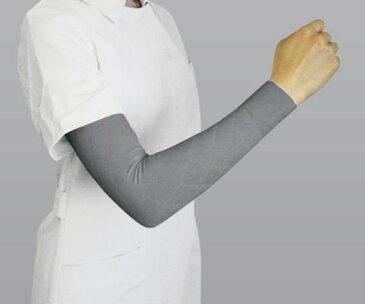 医療弾性スリーブ(弱圧タイプ・腕用) グレー S 2本入 (8-6587-02)