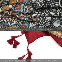 大判ストールUVカット春夏薄手スカーフ大判色鮮やかなプリントストールマフラーレディースギフトスカーフ送料無料