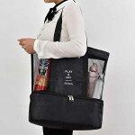 トートバッグキャンバストートマザーズバッグ旅行レディース大容量無地日帰り厚手布エコバッグランチバッグ送料無料