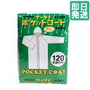 ポケットコート ビニール レインコート 合羽 レインスーツ クリア 透明 120cm
