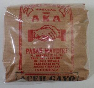 インドネシアの代表的なアラビカ 焙煎済 コーヒー豆【ACEH GAYO】 約100g
