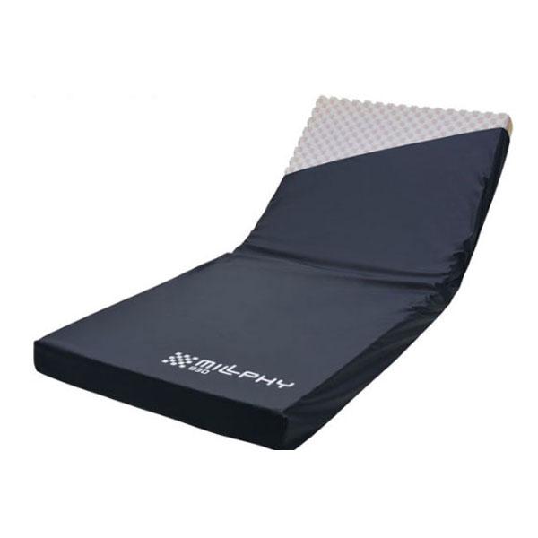 (代引き不可) ミルフィ 830ショート CR-364 (幅83×長さ180×厚さ10cm) ケープ (ウレタンマット 褥瘡予防 マット 体圧分散 床ずれ予防 介護) 介護用品:eかいごナビ 介護用品ショップ