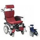 (代引き不可) 松永製作所 オアシスポジティブ 介助式車いす OS-12TRSP ストレート金具 オプションカラー (車椅子 リクライニング ティルト) 介護用品 1