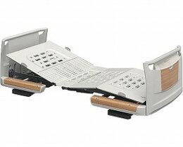 (き)パラマウントベッド楽匠Z2モーション樹脂ボード木目調ミニ83cm幅/KQ-7201