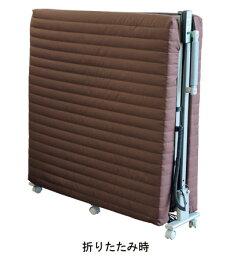 (き)収納電動ベッドKMOT-330ブラウン大商産業