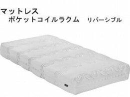 (き)株式会社グランツ悠々ネックス1モーター・マットレスセット/ラクムリバーシブル付(304189)
