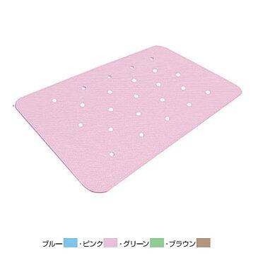 滑り止めお風呂マット ダイヤタッチ 穴開きタイプ LH80 (80×50cm) シンエイテクノ (バスマット 滑り止め バスマット 浴室内 浴槽 滑り止めマット) 介護用品