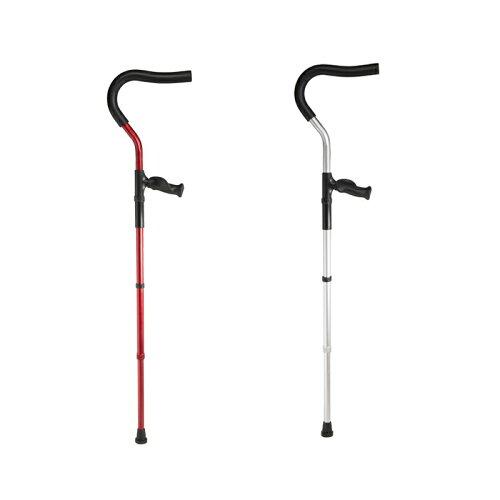 (代引き不可)杖 ニュー・ミレニアル・クラッチ 左右セット MWD-N4000(松葉杖 2本 歩行) 介護用品