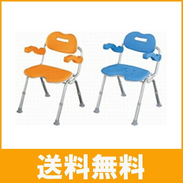介護用品 楽湯DX 7250 折りたたみシャワーチェアー (入浴用椅子 お風呂イス 介護用品 折りたたみ) 島製作所