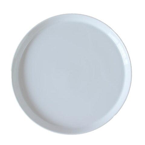 ミート皿 プラット ホワイト皿 25.0cm日本製 業務用 食器