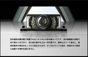 新型10.2インチバックミラーモニター+外付けバックカメラセット