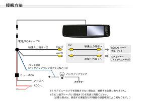 【あす楽対応】4.3インチバックミラーモニター【タッチパネル式】レビューで送料無料スリムデザインバックカメラ連動機能簡単取り付けバックミラーモニターヘッドレストモニター・サンバイザーモニターと同梱オススメ!安心1年保証【YDKG-ms】