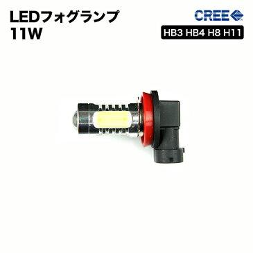 【2個セット】フォグランプ LED HB3 HB4 H8 H11 11W 超絶爆光!ブランドのCREE製 アルミヒートシンク採用 汎用 ホワイト レッド アンバー ブルー