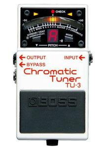 メーカー:BOSS(ボス) 発売日:2010年2月19日BOSS TU-3 クロマチックチューナー 【新品】【ボス...