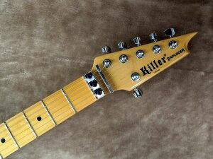 KillerキラーKG-EXPLODER【3ToneSunburst】【エレキギター】【変形】【メタル】【プライム・エクスプローダー】【プレーントップ】【フロイドローズ】【送料無料】