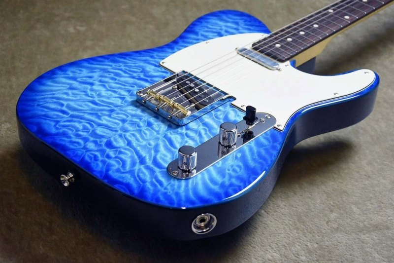 ギター, エレキギター Fender Japan Hybrid 60s Telecaster Quilt TopTransparent BlueJD180150093.46kg25