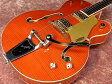 Gretsch グレッチ G6120SSL Brian Setzer Nashville / Orange Lacquer 【ナッシュビル】【シングルカット】【ブライアン・セッツァー】【オレンジラッカー】【送料無料】
