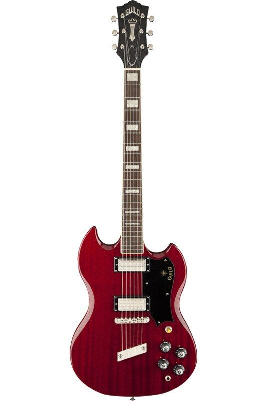 ギター, エレキギター GUILD Newark St. Collection S-100 Polara (Cherry Red)