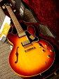 Gibson Custom Shop Historic Collection 1961 ES-335 Dot Plain Reissue (# A36129) Bourbon Burst 【ギブソン】【セミアコ】【カスタムショップ】【ナッシュビル】【送料無料】