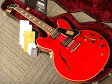 Gibson Custom Shop Historic Collection 1963 ES-335 Block Plain Reissue (# A36202) Faded Cherry 【ギブソン】【セミアコ】【カスタムショップ】【ナッシュビル】【送料無料】