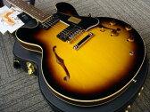 Gibson Custom Shop Historic Collection 1959 ES-335 Dot Plain Reissue (# A97013) Vintage Sunburst 【ギブソン】【セミアコ】【カスタムショップ】【ナッシュビル】【送料無料】