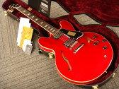 Gibson Custom Shop Historic Collection 1963 ES-335 Block Plain Reissue (# A37024) Faded Cherry 【ギブソン】【セミアコ】【カスタムショップ】【ナッシュビル】【送料無料】