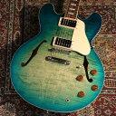 Gibson Memphis 【アウトレット!】ES-335 Figured Aquamarine s/n 10818763【3.58kg】【お茶の水駅前店】・・・