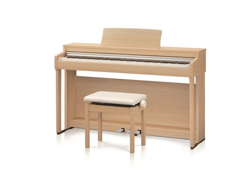 【高低自在椅子&ヘッドフォン付属】KAWAI CN27LO 【プレミアムライトオーク】【お得な足台&X型イスセット!】【河合楽器・カワイ】【電子ピアノ・デジタルピアノ】【送料無料】