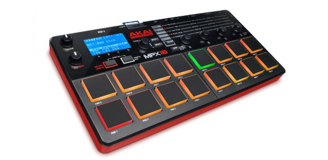 DAW・DTM・レコーダー, サンプラー AKAI PROFESSIONALMPX16SD Sample Recorder and Player