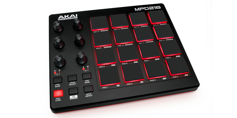 DAW・DTM・レコーダー, その他 AKAI PROFESSIONALMPD218Feature-Pa cked, Highly Playable Pad Controller