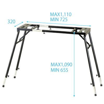 KIKUTANI MUSIC (キクタニ)KS-101 テーブル型万能キーボードスタンド