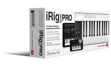 IK Multimedia iRig KEYS PRO 【アイリグ】【MIDIコントローラー】【標準サイズ37鍵盤】【送料無料】