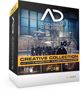 DAW・DTM・レコーダー, DTMセット XLN AudioAddictive Drums 2 Creative Collection