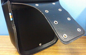 バイク用サイドバッグ2個セットツールバッグケースワイルドレザー調大容量/工具/アメリカン/ハーレー/ツーリング/おすすめ/防水/革/取り付け/自作/おしゃれ/固定/通勤/自転車
