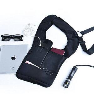 ご旅行に、ご出張に!盗難対策に便利なアイデアグッズですシークレットベルト ワンショルダーバ...