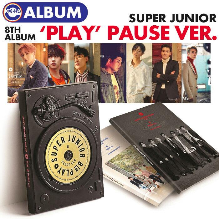 韓国(K-POP)・アジア, 韓国(K-POP)  PAUSE ver. () SUPER JUNIOR 8 PLAY SJ CD ALBUM