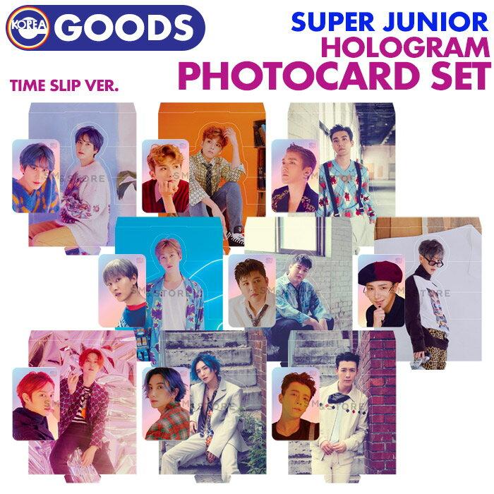 韓国(K-POP)・アジア, 韓国(K-POP)  HOLOGRAM PHOTOCARD SUPER JUNIOR Time Slip ver. SJ SUM SMTOWN