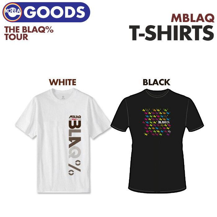 韓国(K-POP)・アジア, 韓国(K-POP) MBLAQ THE BLAQ TOUR T-Shirt (T)(BLACK)