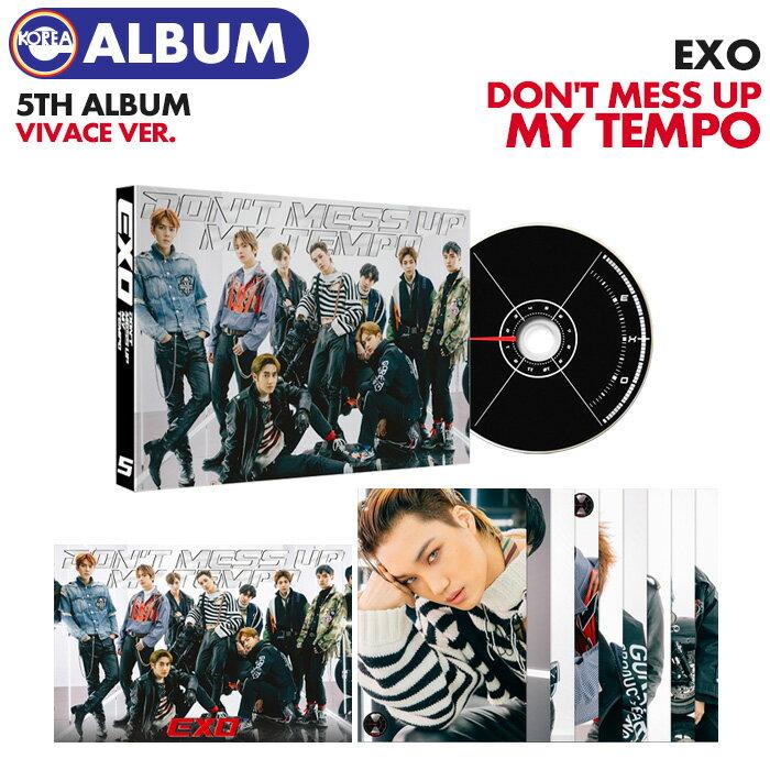 韓国(K-POP)・アジア, 韓国(K-POP)  Vivace Ver. EXO 5 DONT MESS UP MY TEMPO CD ALBUM