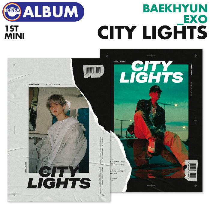 韓国(K-POP)・アジア, 韓国(K-POP)  EXO BAEKHYUN 1 City Lights CD
