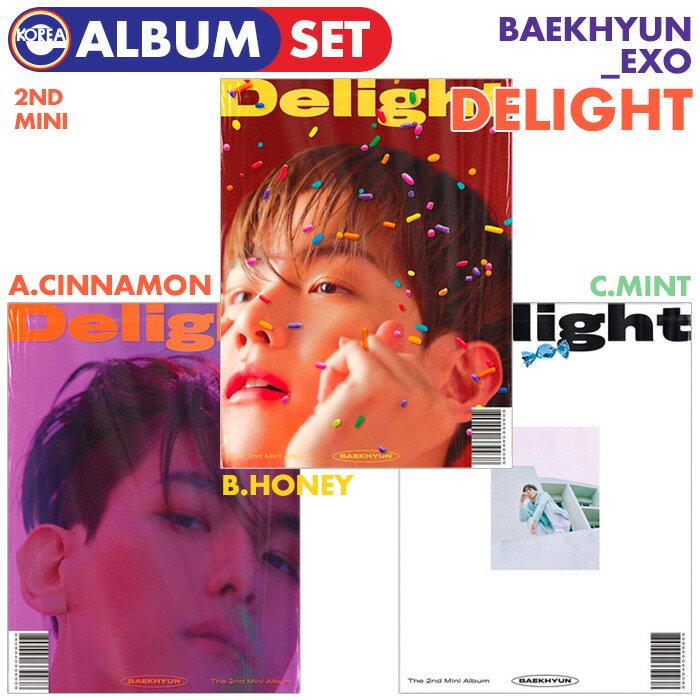 韓国(K-POP)・アジア, 韓国(K-POP)  3 EXO 2 Delight BAEKHYUN CD ALBUM