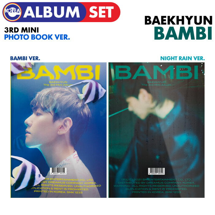 CD, 韓国(K-POP)・アジア  () Photo Book VER.(2) EXO 3 Bambi BAEKHYUN CD
