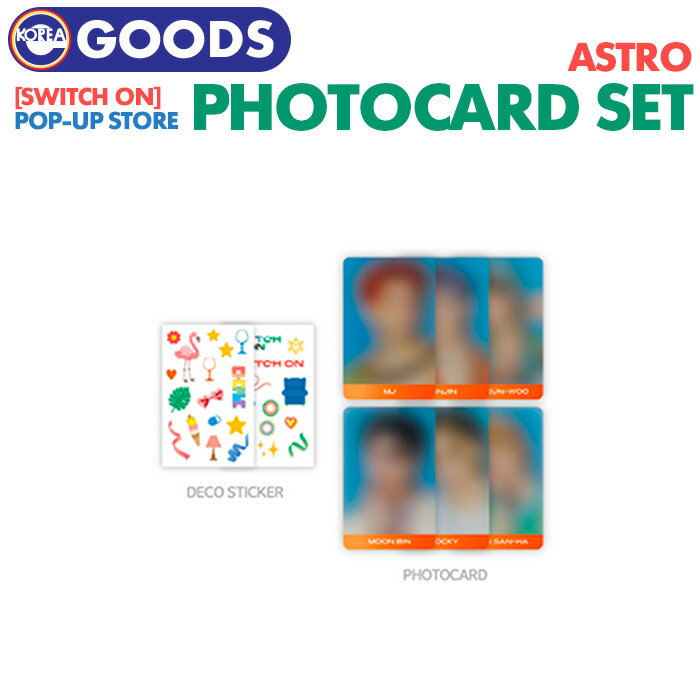 CD, 韓国(K-POP)・アジア  ASTRO SWITCH ON POP-UP STORE PHOTOCARD SET