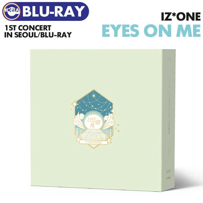 韓国(K-POP)・アジア, 韓国(K-POP) () Blu-ray IZONE 1ST CONCERT IN SEOUL EYES ON ME 1 IZONE PRODUCE48 AKB48 HKT48 LIVE