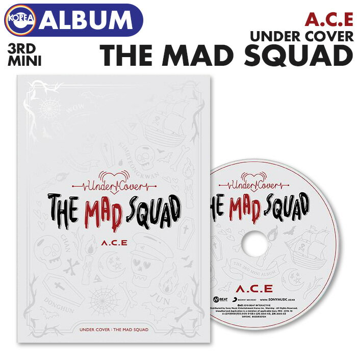 韓国(K-POP)・アジア, 韓国(K-POP) () A.C.E 3 UNDER COVER : THE MAD SQUAD ACE CD